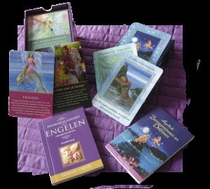 Engelen kaarten | Zeemeerninnen & Dolfijnen kaarten | Orakel | regenboog kristal